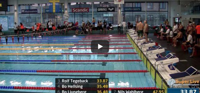 Video från Masters-SM i Umeå
